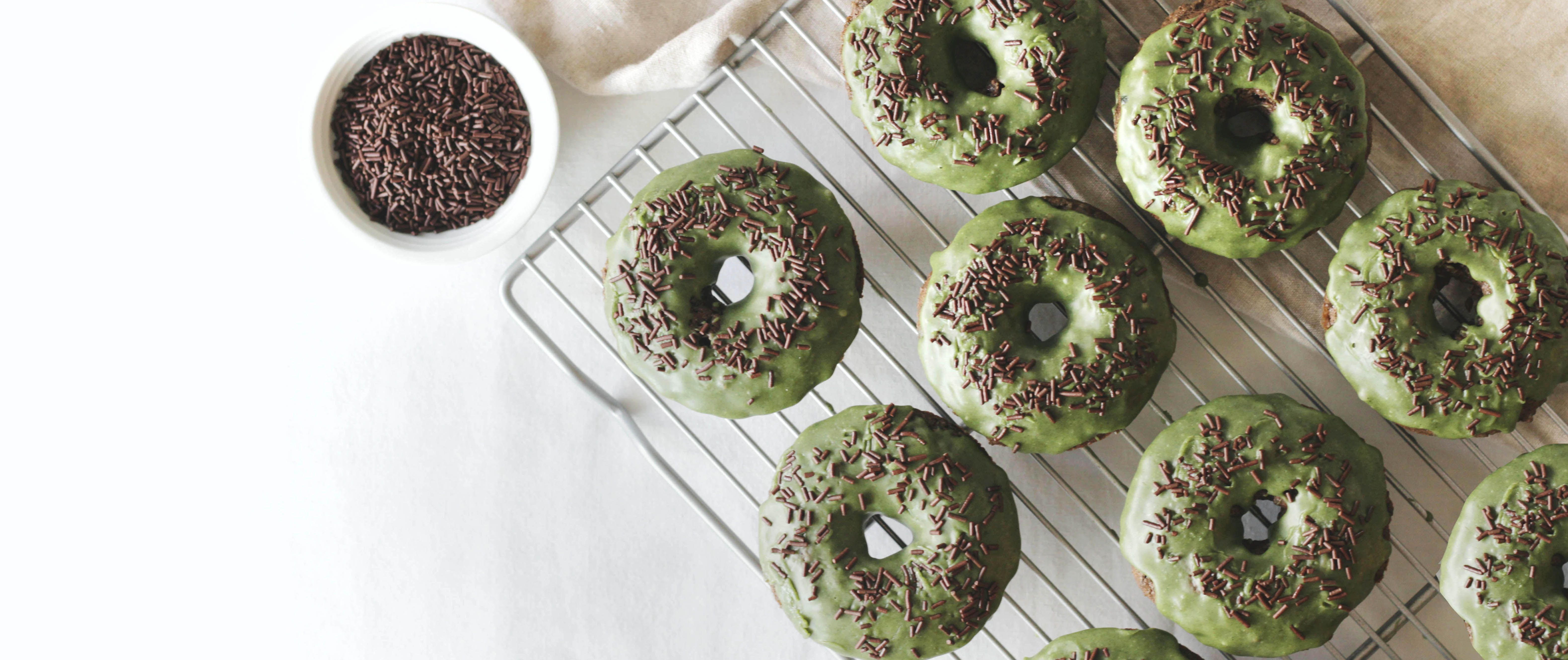 Baked chocolate donuts are a healthy and easy-to-make treat for cold winter days.