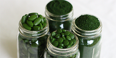Sun Chlorella is available in 200 and 500mg tablets, granules and powder