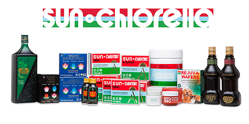Sun Chlorella provides a variety of wellness products including our chlorella, eleuthero, skin cream and pet health products.