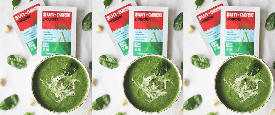 Creamy Spicy Spinach Soup