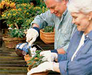 Gardening is a great way to get exercise outdoors, while growing healthy foods